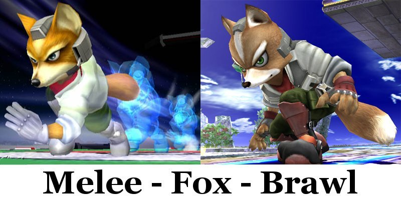 Fox mccloud melee